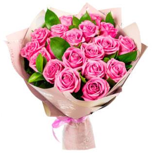 Букет «Розовое фламинго»